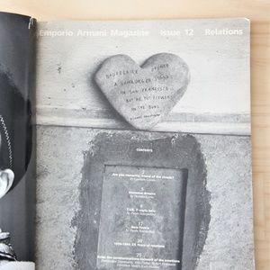 Emporio Armani Accents - Vintage Emporio Armani Editorial Book